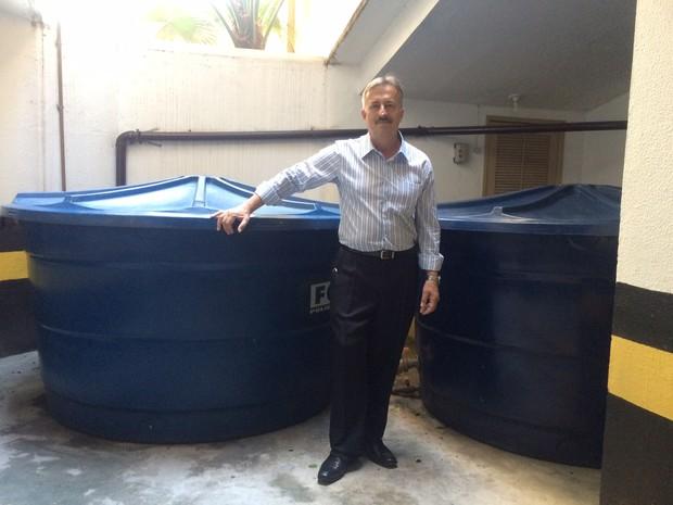Condomínio faz adaptações e poupa 90 mil litros de água por mês
