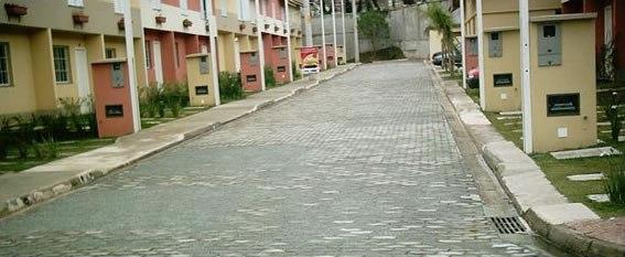 Calçamento das ruas do condomínio. Qual é o melhor?