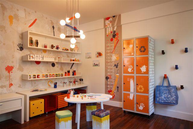 Espaço para crianças em condomínios