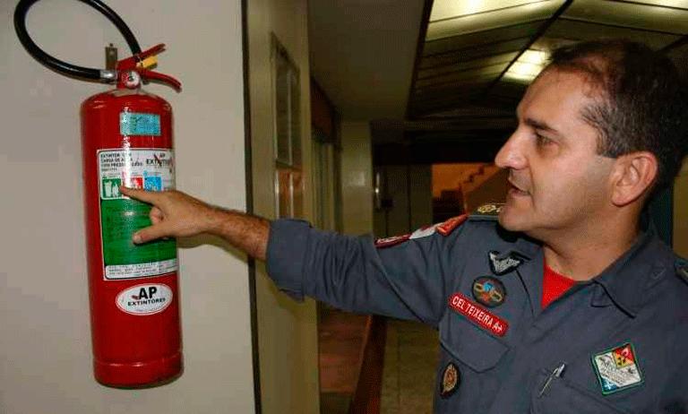 Proteger o patrimônio contra incêndios
