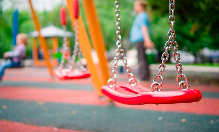 Normas de segurança para playground