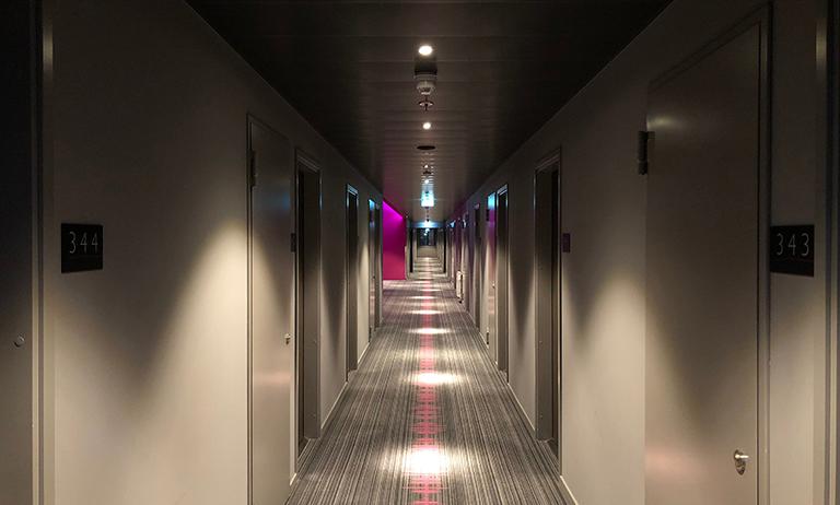 Corredor de um prédio
