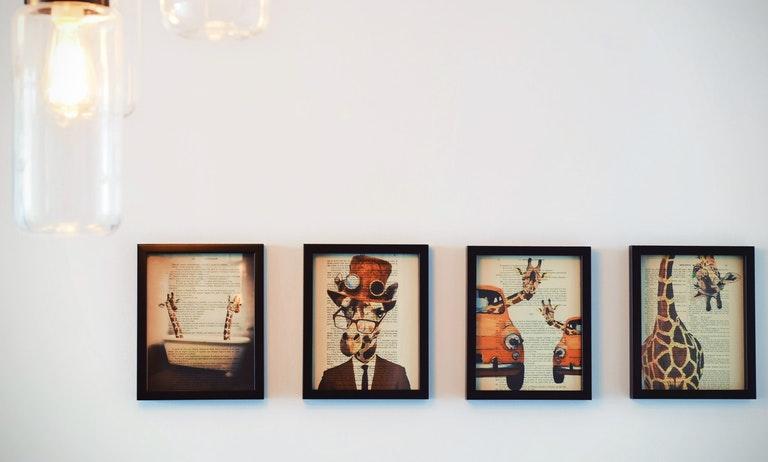 Aprenda a decorar sua casa com quadros